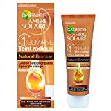 Garnier - Ambre Solaire - Autobronzant Crème Médium - Ambre Solaire Naturel Bronzeur Visage