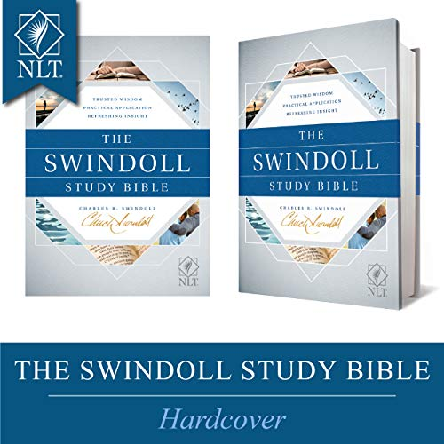 Tyndale NLT The Swindoll Study Bible (Hardcover) – New Living Translation Study Bible by Charles Swindoll, Includes Study Notes, Book Introductions, Application Articles, Holy Land Tour and More!