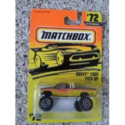 matchbox chevy k-1500 pick up 72 1995