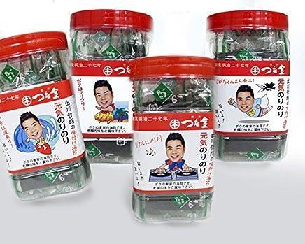 出川哲朗の元気のりのり味付海苔4個セット|蔦金商店