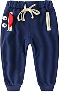HOSD niños Primavera y otoño Pantalones Casuales Ropa para niños 2019 Nuevo bebé otoño Pantalones Pantalones Deportivos pa...