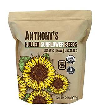 raw organic sunflower seeds