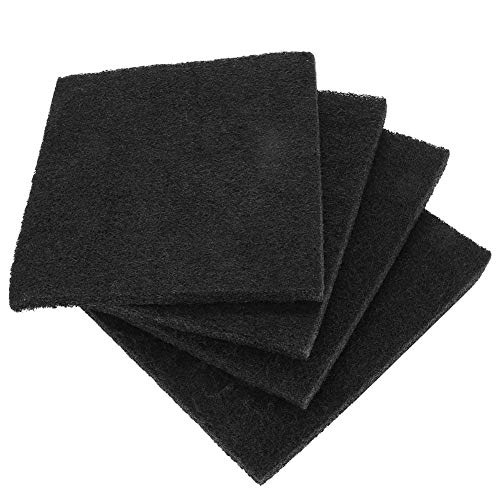 Lettiera per gatti, 4 filtri di ricambio per deodorante al carbone attivo per lettiera con cappuccio e controllo degli odori
