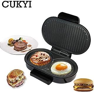 Hannah Dean Steak Grill Meat Roaster Machine Egg Frying Pan Maker ciabatta Bread Oven Breakfast