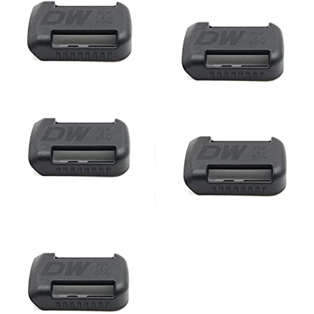 DeWalt Battery Pegboard Mount For DeWalt 20V MAX XR 20V Battery Black