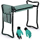 Garden Kneeler And Seat - Protects Your Knees,...
