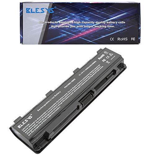 BLESYS PA5109U-1BRS batería PA5108U-1BRS PA5110U-1BRS Compatible con batería de portátil Toshiba Satellite C40 C45 C50 C50D C50T C55D C55DT C55T C70 C75DT C805 baterías(10.8V/4400mAh)
