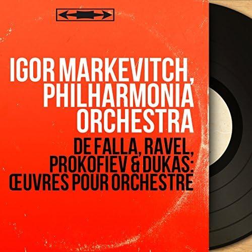 Igor Markevitch, Philharmonia Orchestra