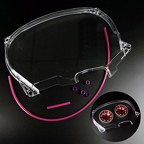 Clear Cam Gear Timing Belt Cover Compatible For Mitsubishi DSM Evolution LANCER EVO4-8 4G63