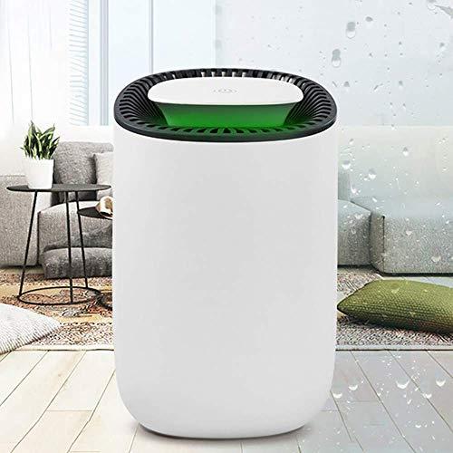 600 ml mini-luchtontvochtiger ter bescherming tegen vocht, droger, energiebesparing, laag verbruik, één knop, startwater, volledige stop, stille slaapkamer, veilig en veilig voor de gezondheid