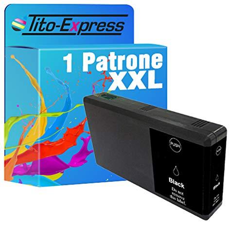 Tito-Express ProSerie 1 Cartuccia compatibile con Epson T7901-T7904 79 XL con 50ml Black XXL contenuto WF-5110 DW WF-5190 DW WF-5620 DWF WF-4640 DTWF WF-5600 WF-4600 WF-4630 DWF
