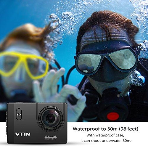 VTIN Action Kamera WIFI VTIN Full HD 1080P Sport Action Camera Cam Wasserdicht - 3