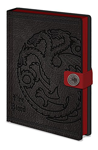 "Pyramid International A5-Notizbuch, Design:Game of Thrones""Targaryen"""