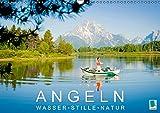 Angeln – Wasser, Stille und Natur (Wandkalender 2015 DIN A3 quer): Petri Heil – Angeln inmitten wunderbarer Natur (Monatskalender, 14 Seiten)