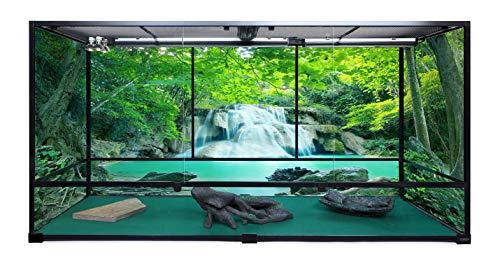 Carolina Custom Cages Terrarium, Giant Deep Extra-Tall 72Lx24Wx36H; Easy Assembly