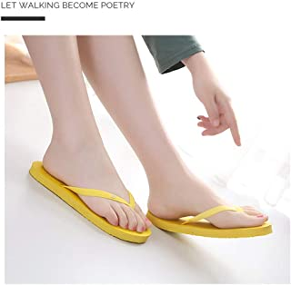 Walmeck Slipper Send recording flip flops women's new slippers non-slip flip-flops men's pinch sandals beach shoes