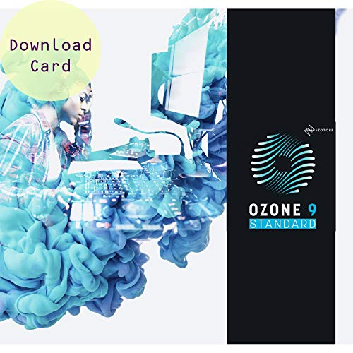 IZotope Ozone 9 Standard – Audio Mastering Software Suite – Download Card