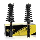 OREDY Struts Rear Pair Shocks Struts Coil Spring Suspension Struts Kit 171493 171492 15341 15342 Complete Struts Assembly Compatible with ES300/Camry 2002 2003 Shocks and Struts