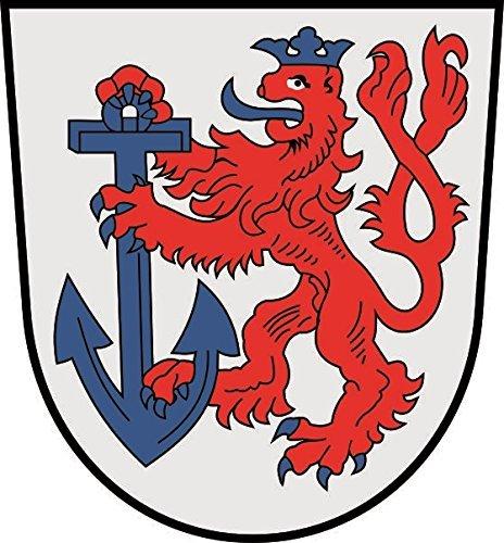 U24 Aufkleber Düsseldorf Wappen Autoaufkleber Sticker Konturschnitt