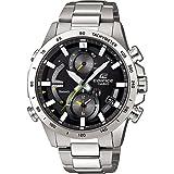 CASIO Herren Chronograph Quarz Uhr mit Edelstahl Armband EQB-900D-1AER