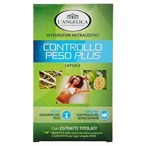 L'Angelica Controllo Peso Plus, Confezione da 40 capsule, 19.8 gr - [pacco da 3]