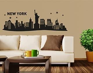 Best new york skyline wall sticker Reviews