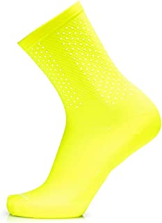 Socks Reflective Yellow Fluo L/XL Calcetines, Hombre, Amarillo, ESTANDAR