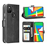 Cresee Google Pixel 5 Case, PU Leather Wallet Flip Cover [3