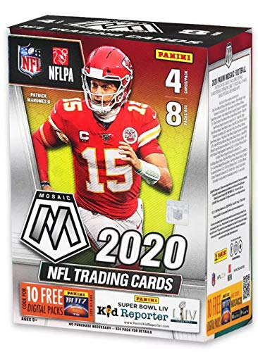 2020 Panini Mosaic NFL Football BLASTER box (32 cards/bx)