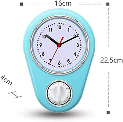 Reloj de pared para cocina de estilo retro, diseño años 50, con ...