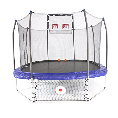 Skywalker Trampolines 12-Foot Square Trampoline with...