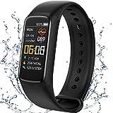 Smartwatch,Fitness Tracker,Activity Tracker Orologio Sportivo per la Salute con Frequenza Cardiaca e Monitor del Sonno,Braccialetto Intelligente,Contacalorie,Orologio Fitness Impermeabile IP67