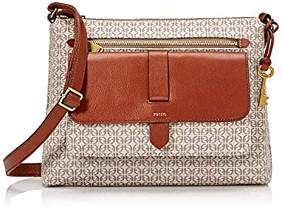 Fossil Kinley Crossbody Taupe/Tan