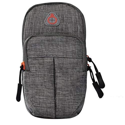 Bolsa de deporte multifuncional para correr, para teléfono móvil, para brazo, para hombres, mujeres, brazo, brazo, brazo, bolsa de muñeca (color: F, tamaño: 17 x 9 cm)