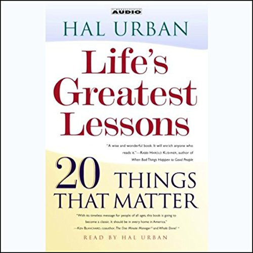 Life's Greatest Lessons audiobook cover art