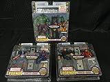Marvel Legends Face-Off Set of 3 Variant Figures, The Hulk Vs The Leader, Kingpin Vs DareDevil and Captain America Vs Red Skull