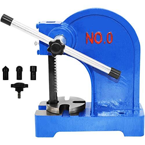 SENDUO Arbor Press 0.5 Ton,Manual Desktop Punch Press Machine,3.54