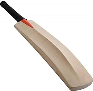 Historical Handicrafts Cricket Bat Plain Popular Willow Cricket Bat with Half Cane Handle,