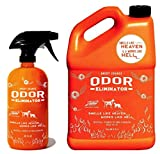 ANGRY ORANGE 24 oz & 1 Gallon (Refill) - Ready-to-Use Citrus Pet Odor Eliminator Pet Spray - Urine Remover and Carpet Deodorizer for Dogs and Cats