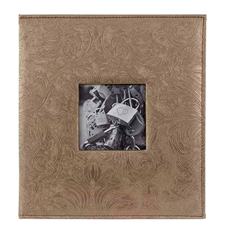 "kieragrace KG Camila Photo Album– Satin Sable, Holds 400 4x6"" Photos, Horizontal and Vertical"