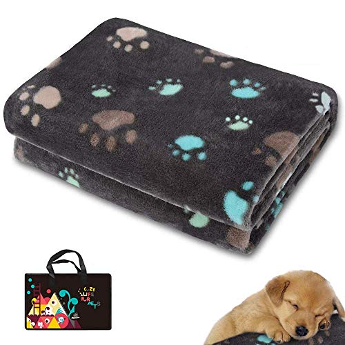 Allisandro Premium Flannel Fleece Dog Blanket