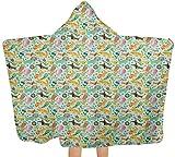 Bernice Winifred Toalla de baño grande Funky Playroom Concept con capucha toalla de bebé toalla para nadar/ducha/piscina 150 x 200 cm