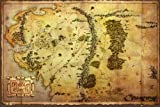 The Hobbit - Map Eine unerwartete Reise Fantasy Poster