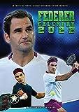 Roger Federer Calendar - Calendars 2021 - 2022 Calendars - Sports Calendar - Tennis Calendar - 12 Month Calendar by Dream (Multilingual Edition)