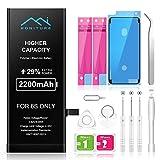 Batería iPhone 6s de Alta Capacidad 2200mAh,...