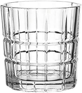 Leonardo Spiritii Trink-Gläser, 4er Set, 360 ml, spülmaschinenfeste Wasser-Gläser, Saft-Gläser mit Schliff, stoßfestes Gläser-Set, 022758