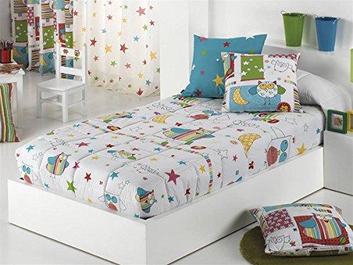 Cañete - Edredón ajustable BIRD cama 105
