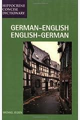German - English / English - German Dictionary Taschenbuch
