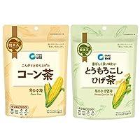 コーン茶 とうもろこしひげ茶 1個×2種類 韓国 お茶 美味しい 美容 ティーパック 水出し パック