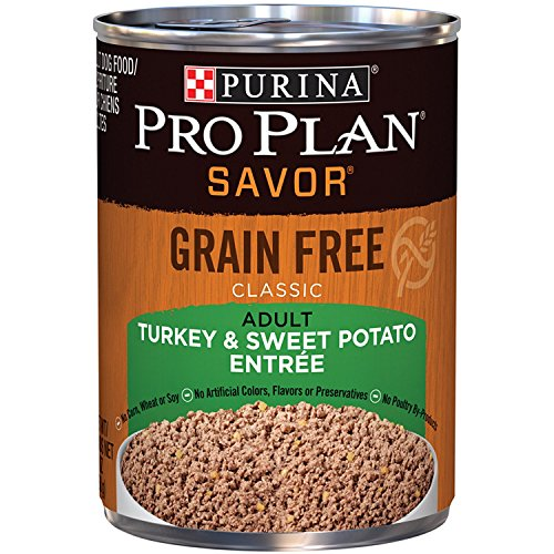 Purina Pro Plan Grain Free Pate Wet Dog Food, SAVOR Grain Free Turkey...